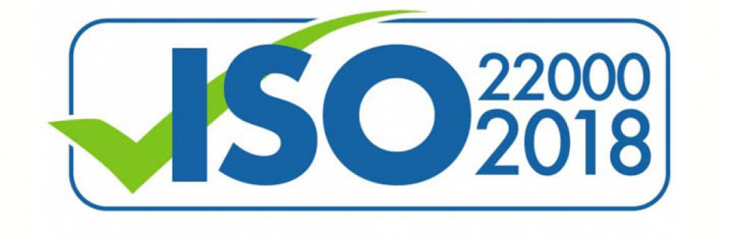 Получен Сертификат ISO 22000:2018